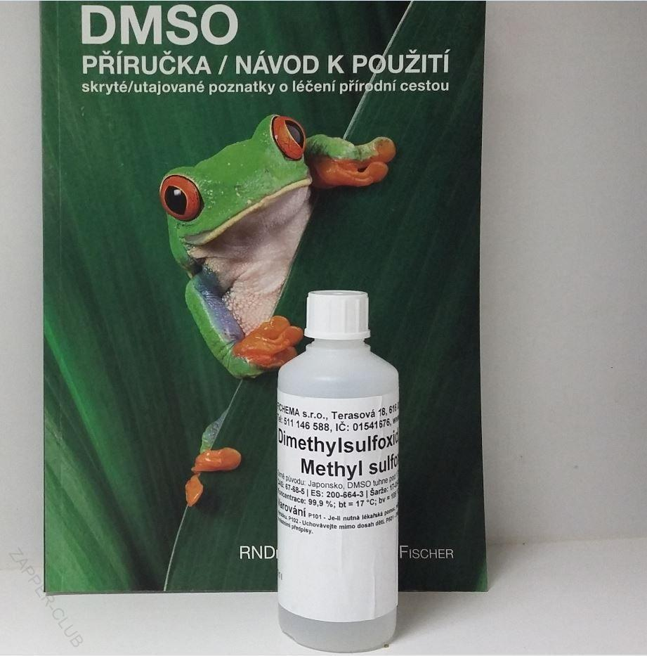 DMSO Kniha + 100 ml DMSO